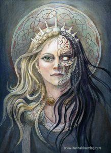 creación según la mitología nórdica