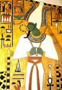 Representación de Osiris