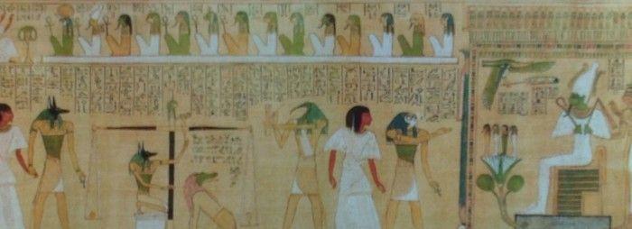 Osiris juez de los muertos