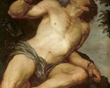Tántalo, el rey de Lidia