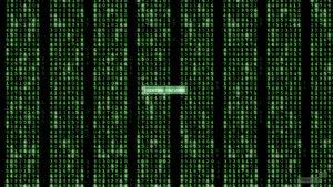 Códigos binarios en Matrix