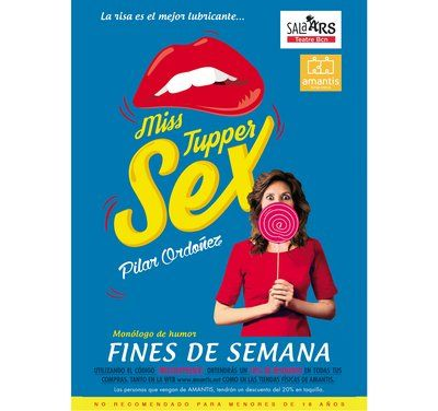 Miss Tupper Sex, un 'pelotazo' de humor en Sala Ars Teatre Barcelona