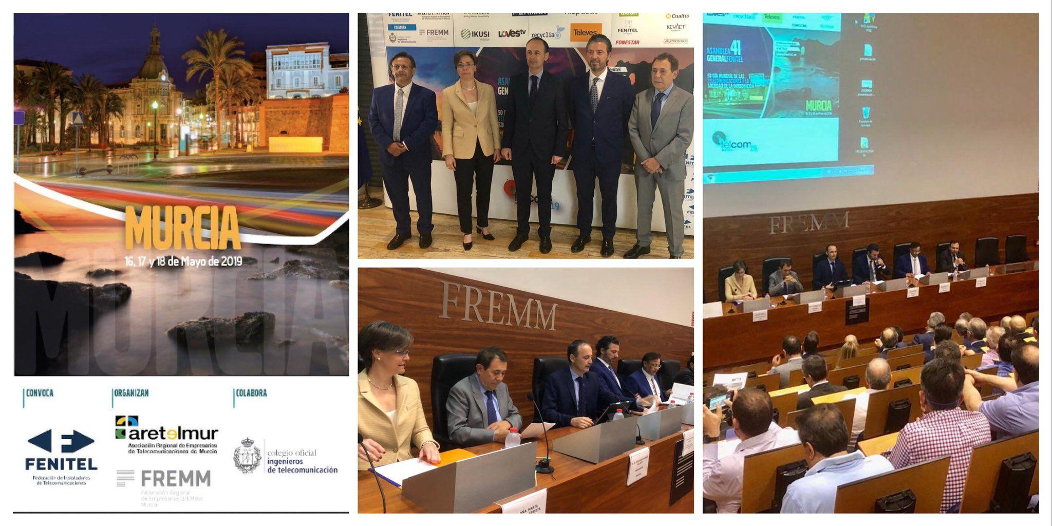 El Congreso de FENITEL, pone sobre la mesa el desarrollo de 5G, IoT, de la nueva TDT y el dividendo digital
