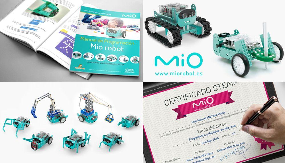 Miorobot.es presenta su nuevo Manual y Certificados para profesores