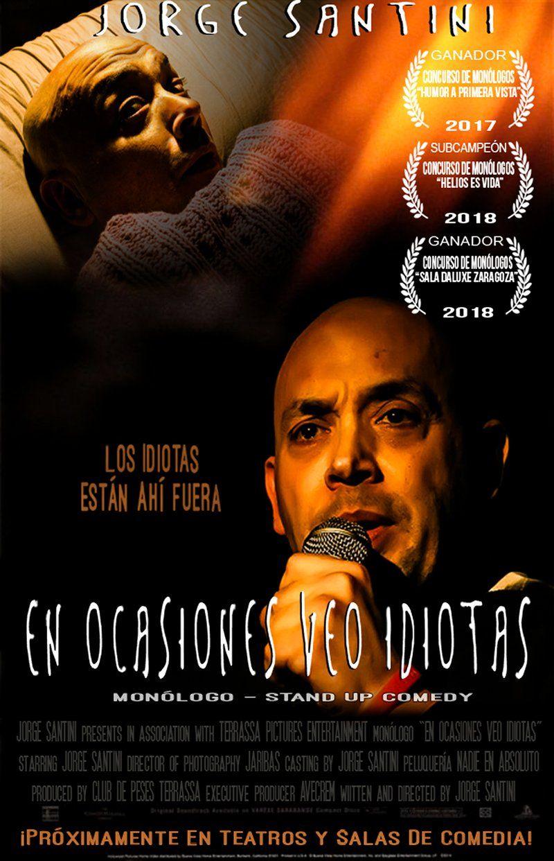 'En ocasiones veo idiotas' con Jorge Santini, una comedia con muchos premios en Sala Ars Teatre