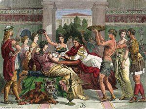 Qué alimentos comían los romanos