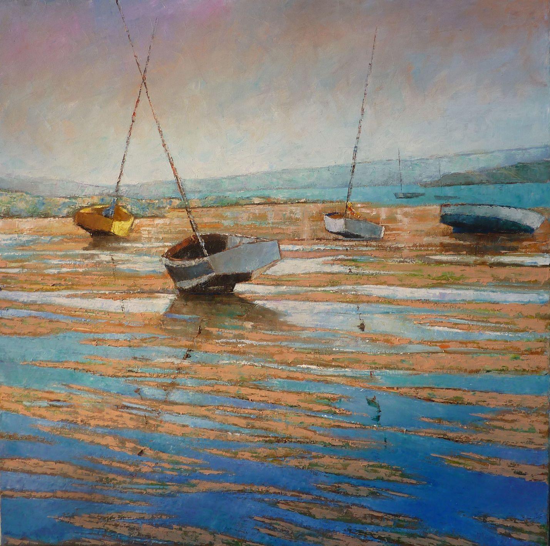 El pintor Alain Briant expone en Barcelona