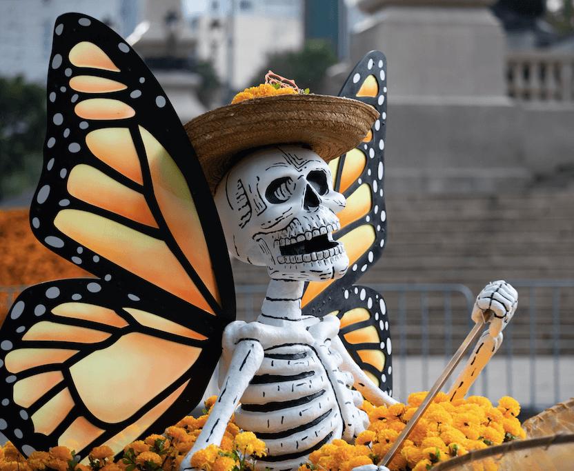 Desfile Internacional de Muertos 2019 en CDMX
