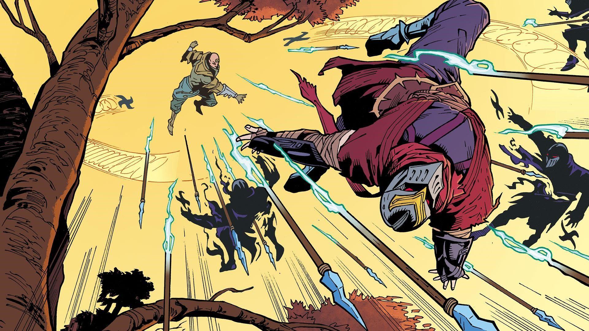 Riot Games lanza el primer tomo de Zed, junto a Marvel