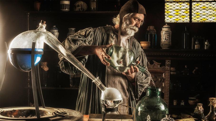 alquimistas y magia