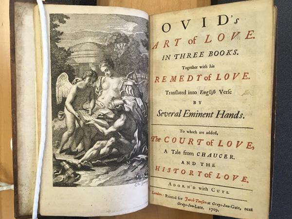 Resumen del arte de amar Ovidio