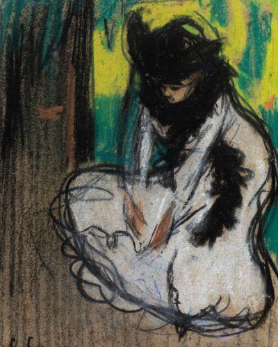 Setdart Subastas consigue licitar una de las pocas obras de Carles Casagemas