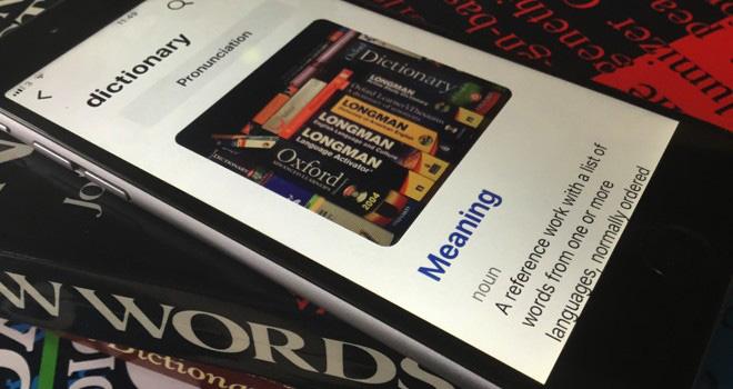 App diccionarios