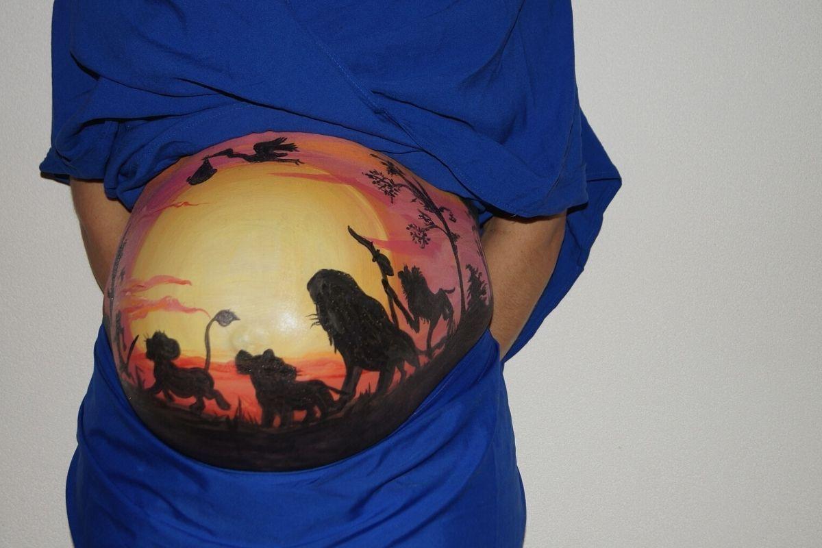 Belly Painting: un recuerdo original en tiempos de coronavirus