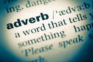 adverbios en inglés