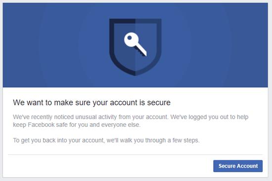 como mantener seguro facebook