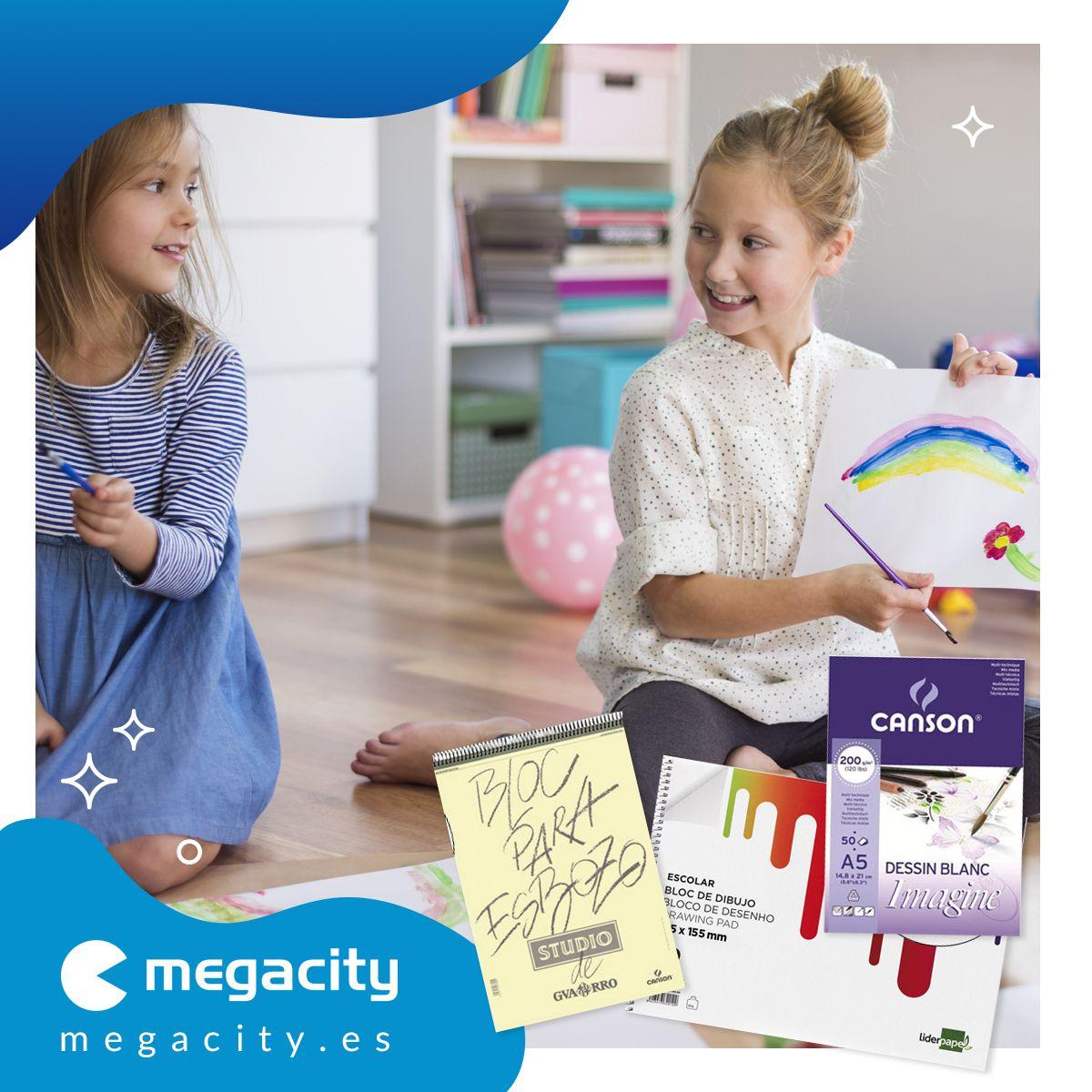 Conseguir blocs de dibujo personalizados en Megacity